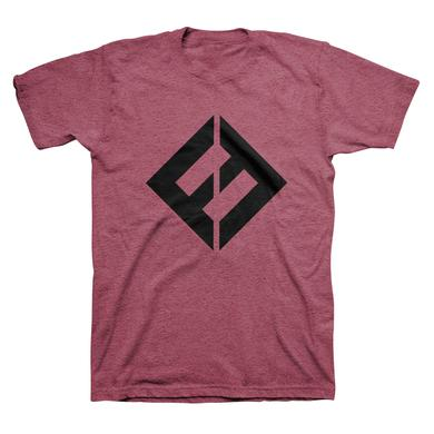 Foo Fighters FF Equals Tee (Heather Burgundy)