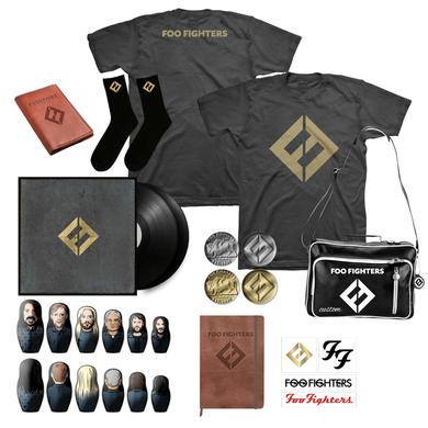 Foo Fighters Concrete & Gold Vinyl Deluxe Bundle