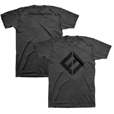 Foo Fighters FF Equals Tee (Black/Charcoal)
