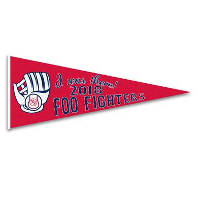 Foo Fighters Boston I Was There Felt Pennant