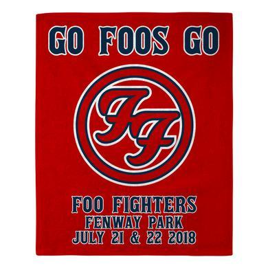 Foo Fighters Boston Rally Towel