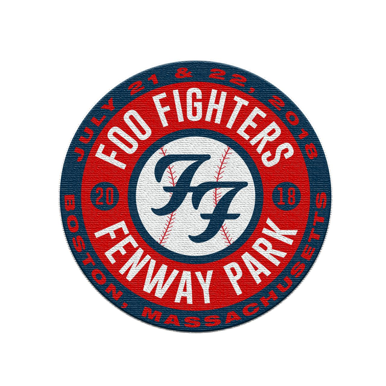 Foo Fighters Boston Embroidered Patch