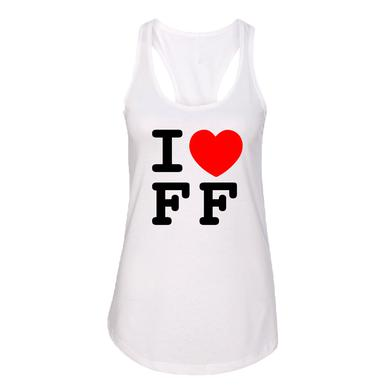 Foo Fighters Women's I Heart FF Tank
