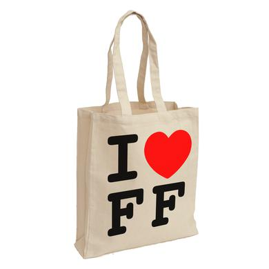 Foo Fighters I Heart FF Tote Bag
