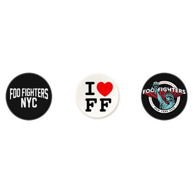 Foo Fighters NYC Button Pack