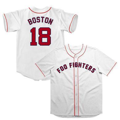 Foo Fighters Boston Jersey