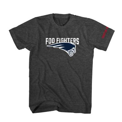 Foo Fighters Dead Skull Tee (Charcoal Heather)