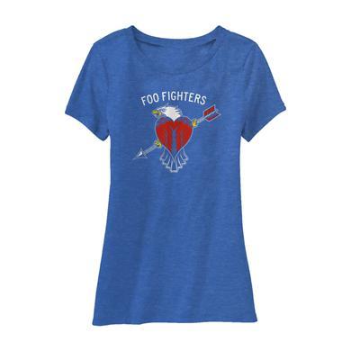 Foo Fighters Worldwide Eagle Women's Tee
