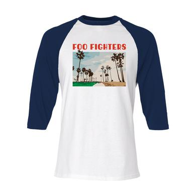 Foo Fighters Vintage Palms Raglan