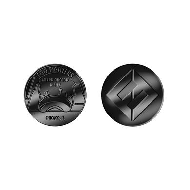 Foo Fighters Metro Event Coin