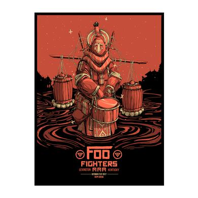 Foo Fighters Lexington, KY Event Poster