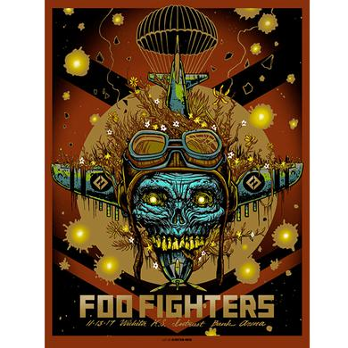 Foo Fighters Wichita, KS Event Poster