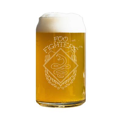 Foo Fighters Snake Beer Can Glass