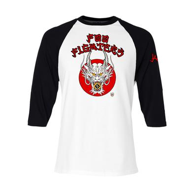 Foo Fighters Dragon Raglan