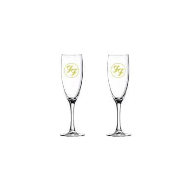 Foo Fighters Champagne Flutes