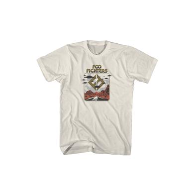 Foo Fighters Roswell UFO Natural Tee