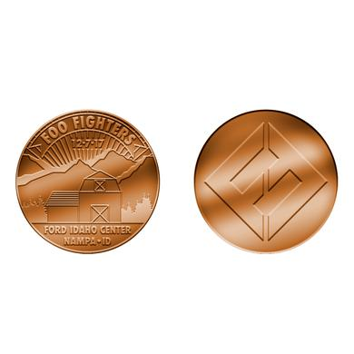 Foo Fighters NAMPA, ID - FORD IDAHO CENTER COIN