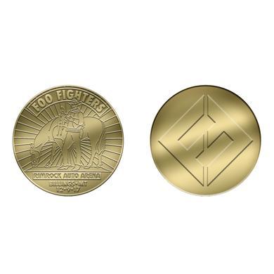 Foo Fighters Billings, MT - Rimrock Auto Arena Coin