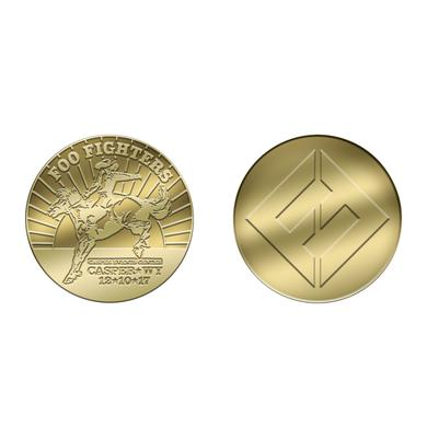 Foo Fighters CASPER, WY - CASPER EVENTS CENTER COIN
