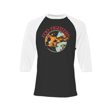 Foo Fighters Branca Raglan