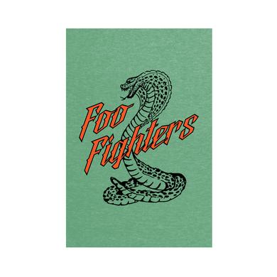Foo Fighters Cobra Wall Flag