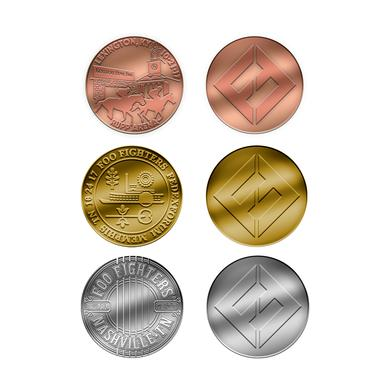 Foo Fighters Coin Bundle of 3