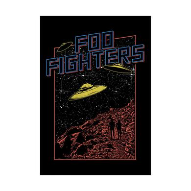 Foo Fighters UFO Wall Flag
