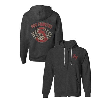 Foo Fighters Racer Zip Hoodie