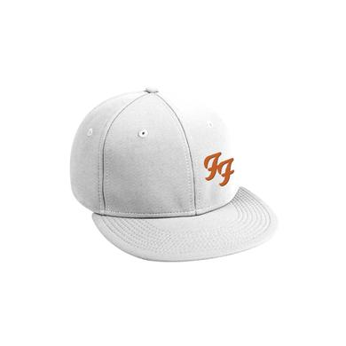 Foo Fighters FF Snapback Hat (White)