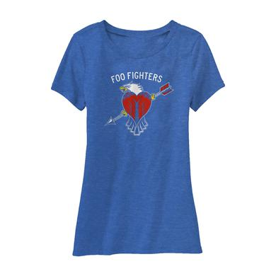 Foo Fighters Worldwide Eagle Women's Tee
