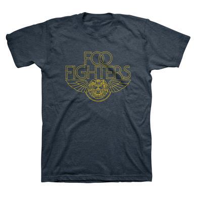 Foo Fighters Tiger Wings Tee (Heather Navy)