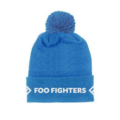 Foo Fighters Blue Foldover Beanie