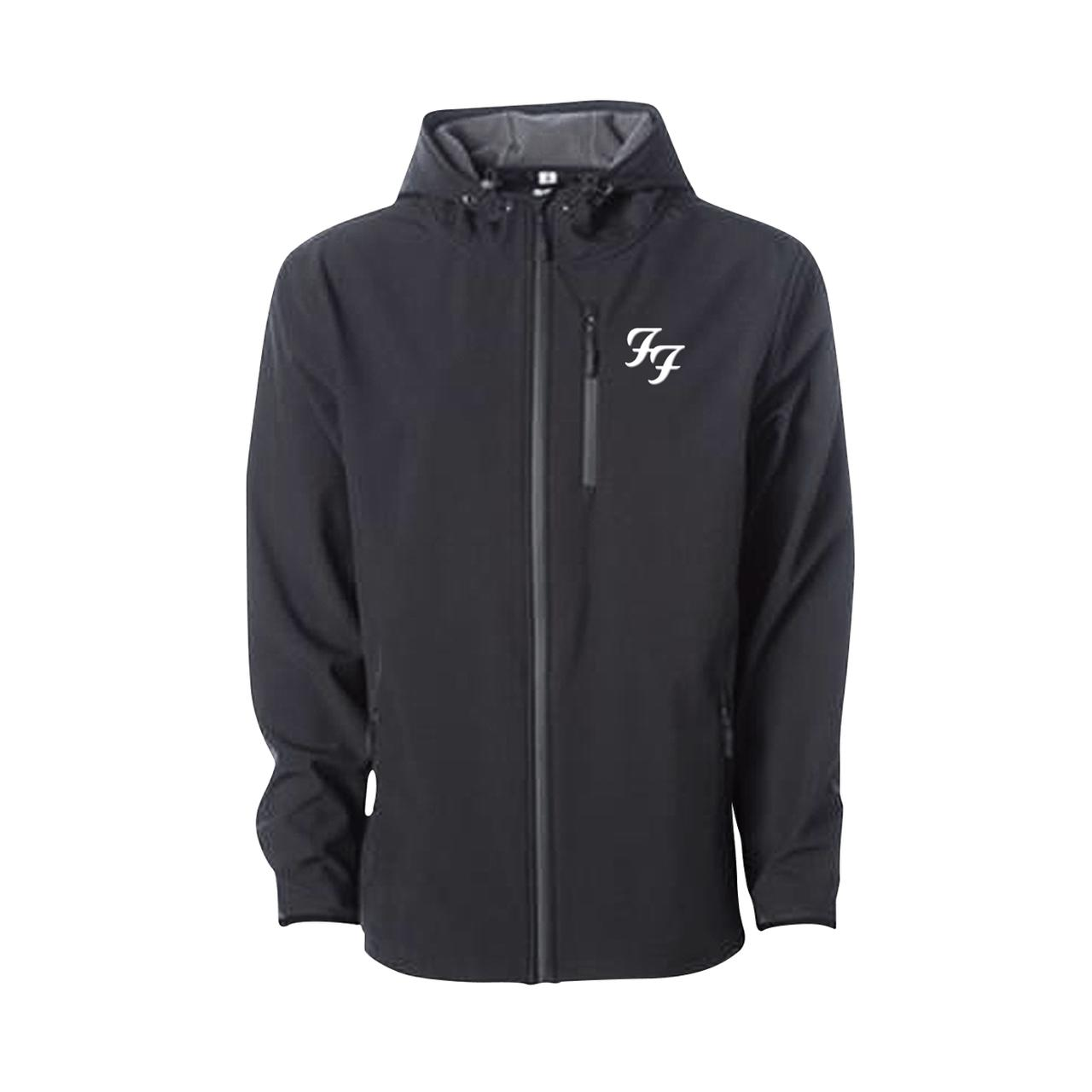 Foo Fighters Soft Shell Embroidered Jacket. Hover to zoom