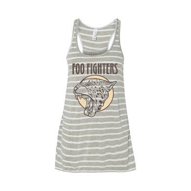 Foo Fighters Cheetah Flowy Racerback Tank