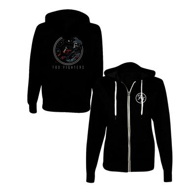 Foo Fighters Cockpit Zip-Up Hoodie