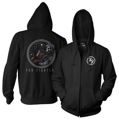 Foo Fighters Cockpit Zip-Up Hoodie