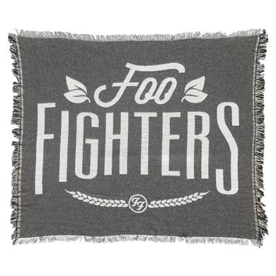Foo Fighters Woven Throw Blanket