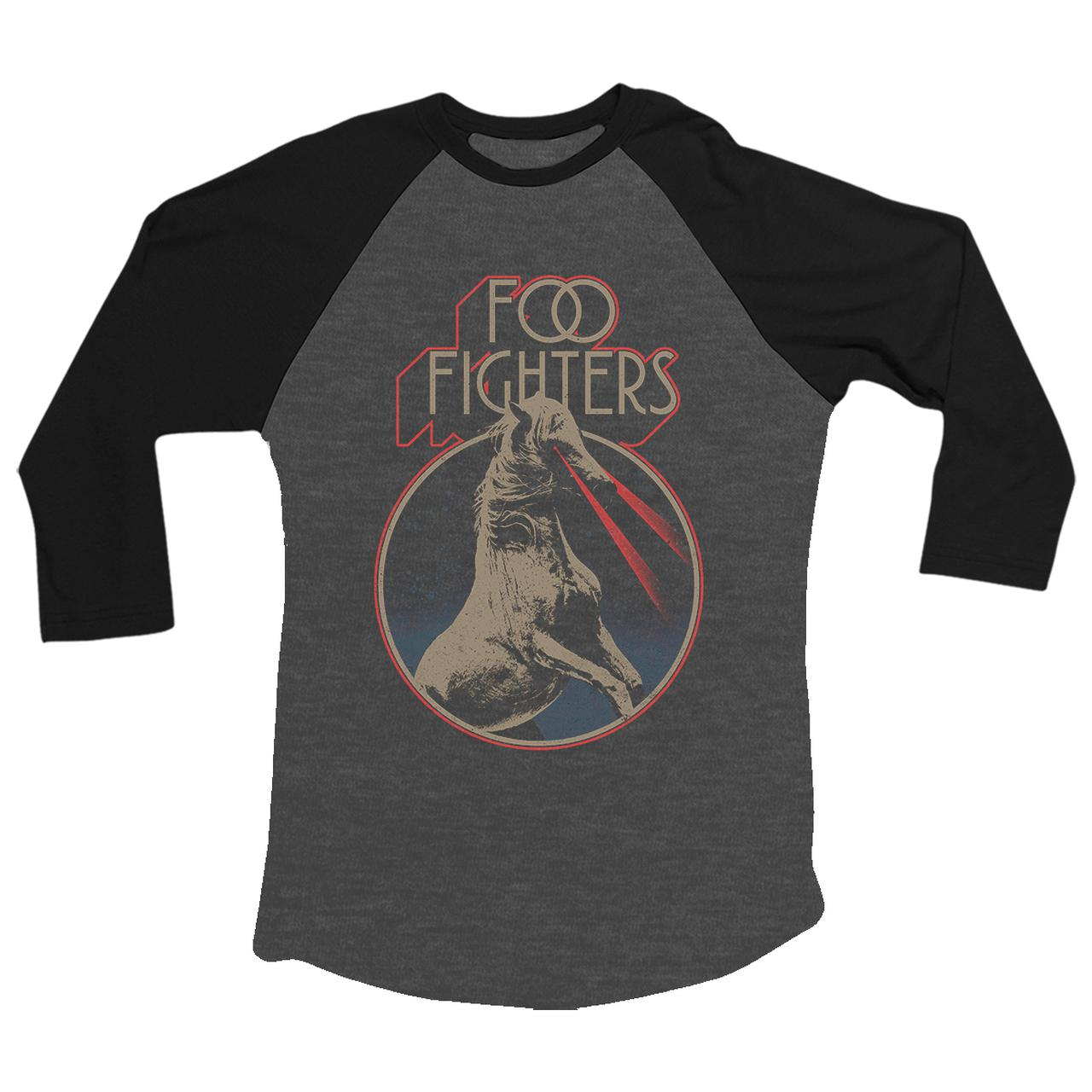 Foo Fighters Space Horse Baseball Tee
