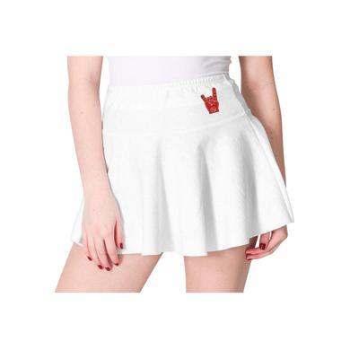 Foo Fighters Metal Fingers Skirt (White)