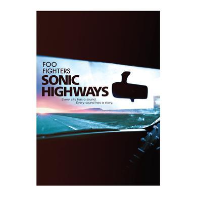 Foo Fighters Sonic Highways DVD or Blu-Ray