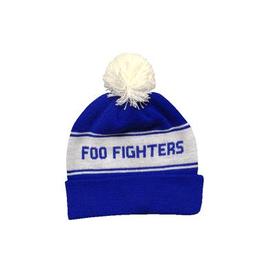 Foo Fighters Pom Fighter Blue Beanie