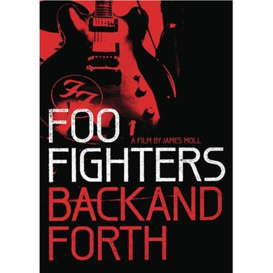 Foo Fighters Back and Forth DVD or Blu-Ray