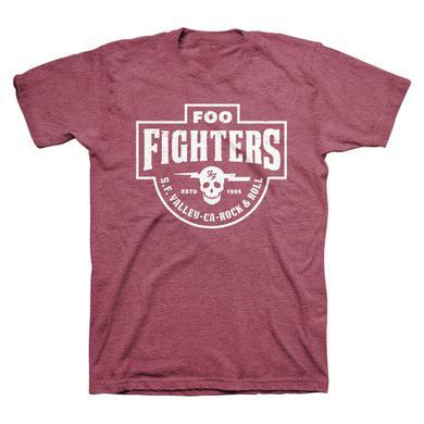 Foo Fighters Insignia Tee (Heather Burgundy)