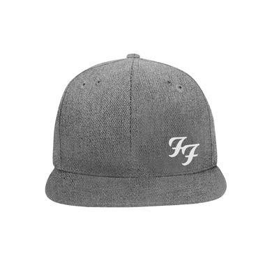 Foo Fighters FF Snapback Hat (Grey)