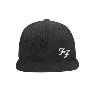 Foo Fighters FF Snapback Hat (Heather Black)