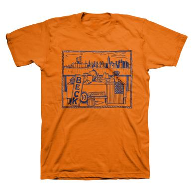 Beck Brooklyn Tee (Orange)