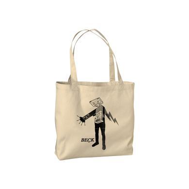 Beck Cassette Head Tote Bag
