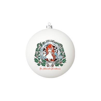 Jenny Lewis It's Almost Christmas Glass Ornament