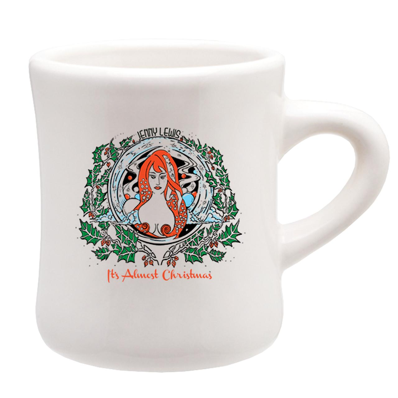 Jenny Lewis It\'s Almost Christmas Mug