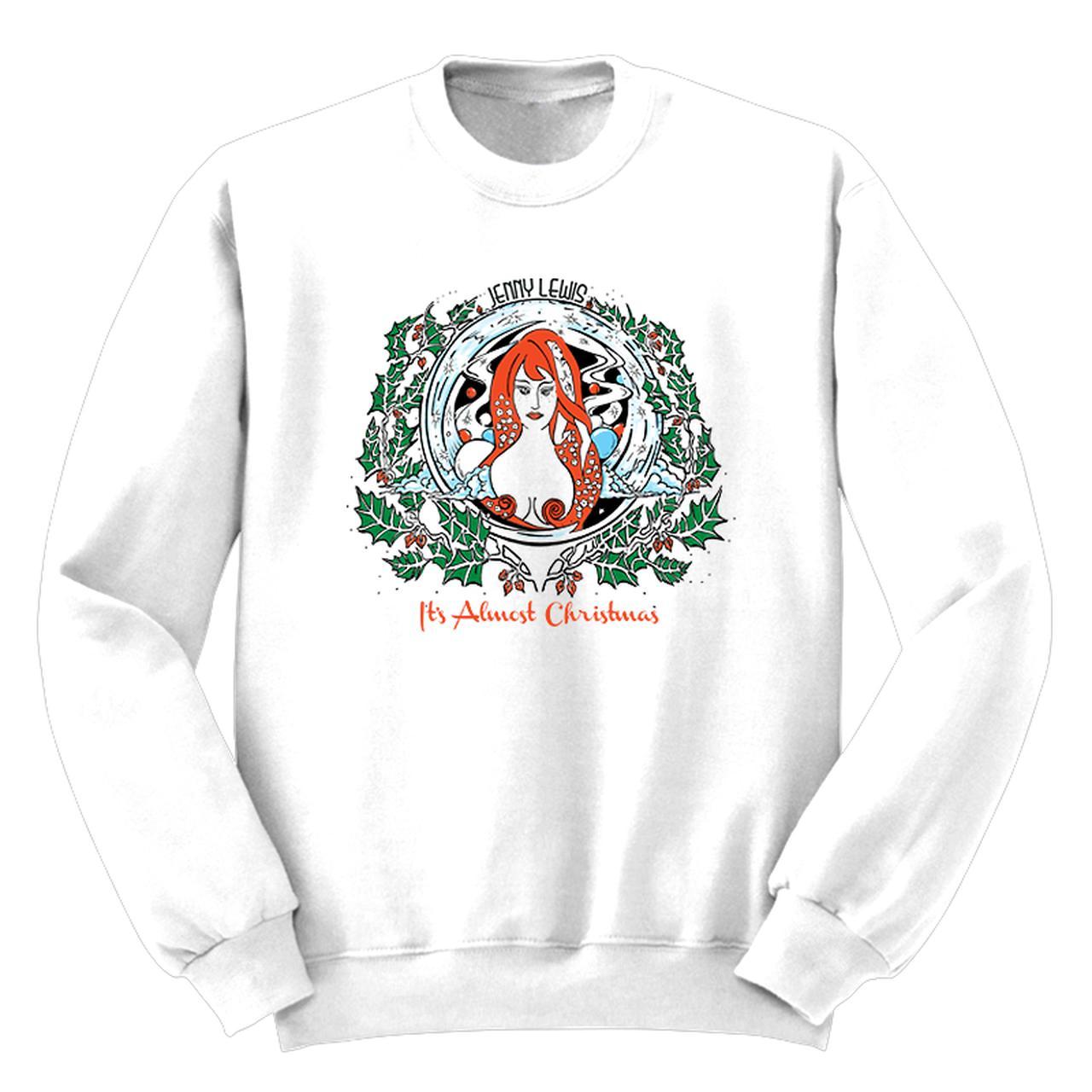 Jenny Lewis It\'s Almost Christmas Sweatshirt
